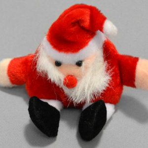 мягкая игрушка дед мороз 8 см.