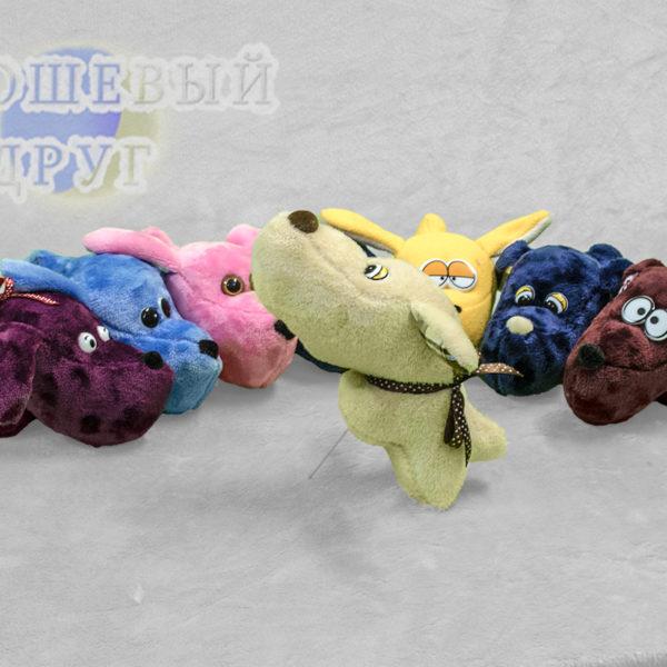 игрушки земляные собаки разных цветов НД фото